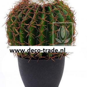 Kunst Barrel Cactus Deco Trade